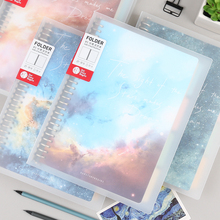 初品/mu河之夜 活ic创意复古韩国唯美星空笔记本文具记事本日记本子B5