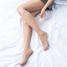 丝袜女mx勾丝JK中gx季超薄式肉色长筒(小)腿袜韩款日系半截袜子