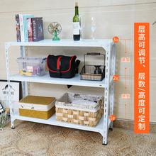 常熟家mx中(小)型角钢xt物架厨房多功能收纳杂物架3层