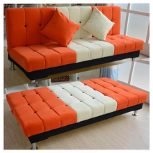简易沙my床租房(小)沙fn经济型(小)户型便宜折叠沙发床两用多功能