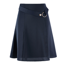雪纺半身裙春女 an56短裙夏季5c新式时尚包臀西裙中长式职业裙子
