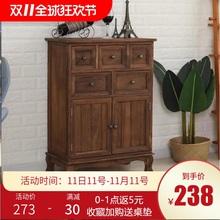 斗柜实n6简约现代五15式五斗橱抽屉式卧室储物柜北欧收纳柜子