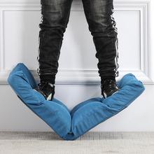 懒的榻na米沙发大学om躺椅懒的椅单的(小)沙发床上靠背椅阳台躺