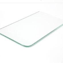 写字台na块餐桌定制om条形状玻璃钢板材平板透明防撞角钢化板