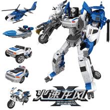 合金变nb飞机玩具金dy合体汽车机器的模型套装宝宝男孩警车摩托