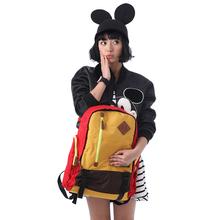 Disncey/迪士ch专柜正品尼龙布波普风双肩背包男女出游旅行包