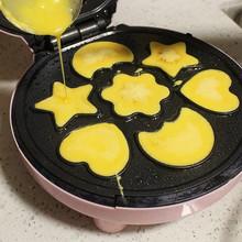 蛋糕机nc饼铛家用双qz卡通烙饼锅煎饼锅新式宝宝(小)型自动断电