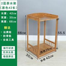 可移动nd滑轮(小)茶几qv柜置物架放烧水壶的(小)桌子活动茶台柜子