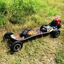 四轮汽ne滑板车越野an力滑板车电动滑板四冲汽油滑板