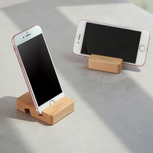 日本桌ne手机架创意ds头直播平板固定支架通用实木制架子托架