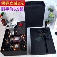 礼物盒ne日婚礼伴手ons口红礼品盒精美韩款网红礼物盒子包装盒