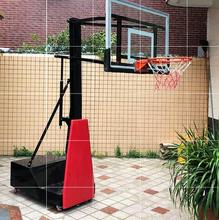 投篮筐ne儿园男宝宝go球架钢化玻璃板(小)型运动带轮移动篮球板