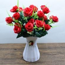 仿真花艺套装客厅餐ne6茶几摆件go装饰塑料花束摆设假花盆栽