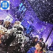 档高派ng婚礼雪花机gn器活动600W舞台泡泡喷下雪下暴风雪灯光
