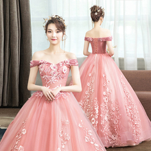 [nghxa]新款彩纱婚纱艺考礼服舞台