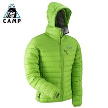 CAMng坎普羽绒服vd式超轻加厚大码修身保暖冬季鸭绒服外套