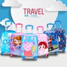 旅行箱拉杆书包儿ni5卡通(小)学an行李箱可爱时尚女童(小)学生