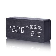 [nickt]万年历闹钟创意卧室床头时