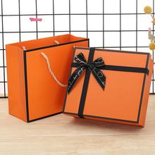 大号礼ni盒 inshi包装盒子生日回礼盒精美简约服装化妆品盒子