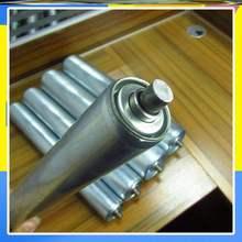 传送带ni器送料无动tz线输送机辊筒滚轮架地滚线输送线卸货