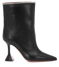 202ni新式黑色羊tz细跟女靴10CM高跟短靴马丁靴时装靴高跟女鞋