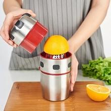 我的前ni式器橙汁器ku汁橙子石榴柠檬压榨机半生
