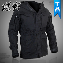 户外男ni合一两件套ta冬季防水风衣M65战术外套登山服