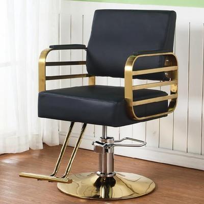 升降椅nj盘按摩时尚er刮胡豪华座椅理发店椅子发廊专用复古