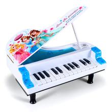 电子琴nj真灯光音乐yy早教益智女孩幼儿声光玩具2345岁