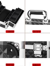 三层折nk五金塑料多dc提式大号维修工具盒家用收纳电工