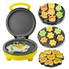 家用儿nk迷你(小)型卡dc用全自动面包机电饼铛多功能