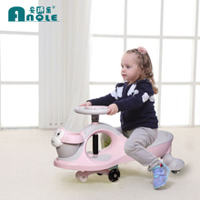 静音轮nl扭车宝宝溜jx向轮玩具车摇摆车防侧翻大的可坐妞妞车