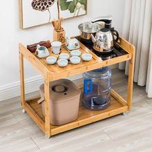 活动茶几带轮客厅移动烧水