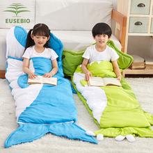 EUSnoBIO睡袋ao冬加厚睡袋中大通保暖学生室内午休睡袋