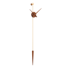 现代北ns美个性创意xq厅极简西班牙风格纯铜超大指针挂钟表