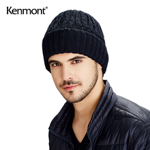kennuont冬天ri户外针织帽加绒双层毛线帽韩款潮套头帽冬帽