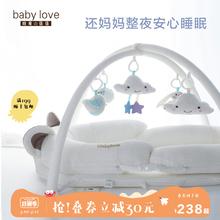 婴儿便nu式床中床多ea生睡床可折叠bb床宝宝新生儿防压床上床