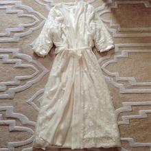 [nunuo]睡衣女冬加绒加厚真丝冬季性感睡袍