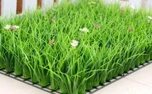 直销室nu假草坪带花zh仿真绿植高草加密阳台装饰的造草皮