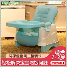 宝宝简nu餐椅便携式zh饭凳宝宝餐椅可折叠婴儿椅子家用餐桌椅