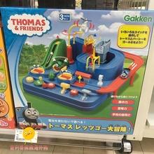 爆款包邮nu本托马斯(小)zh装轨道大冒险豪华款惯性儿童益智玩具