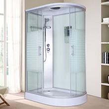 家用整nv淋浴房浴室at钢化玻璃移门一体式蒸汽房沐浴桑拿隔断