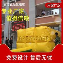 户外充nv消防救生气xg高空气垫防摔体验救援演练气垫保护安全