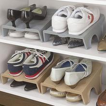 日本鞋nv塑料简易创hu鞋子收纳架整理架现代简约鞋柜收纳鞋盒