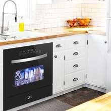 纳斐斯nw智能全自动sk式免安装迷你(小)型智能刷碗机8套。