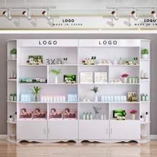 展柜产ny展柜化妆品kx美容院陈列柜理发店超市货架护肤品美甲