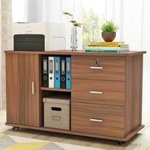 活动柜ny公桌下抽屉xz柜边柜侧柜矮柜带锁落地柜移动打印柜子