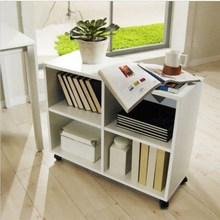 木质办ny柜落地式文xz料柜储物柜移动矮柜桌下(小)柜子活动柜定
