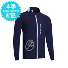 韩国风ob男式加绒保f8外套透气舒适服饰上衣n秋冬新式1903qc