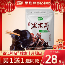 【百亿oc贴】十月稻ut特产农家椴木干货肉厚非野生150g